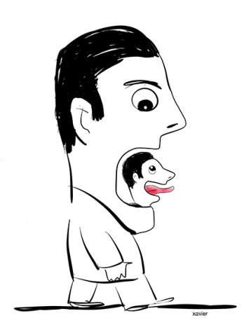 Le porte parole du chef qui ne garde pas sa langue dans sa poche. Il vaut mieux parfois ne rien dire.