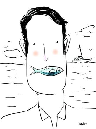 Go to fish for the sardine, The sardine fish, Method of fishing, Fish the Atlantic Ocean, Fisherman, Sea fisherman, Allez pêcher la sardine, La sardine poisson, Méthode de pêche, Poisson atlantique, Pêcheur, Marin pêcheur