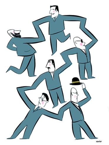 Men People of network freemasonry freemason human relation illustration network of influence edition publishing hommes de réseau franc-maçonnerie franc maçon relation humaine illustration xavier réseau d'influence édition