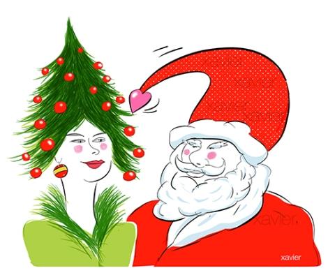 amour tendresse noble arbre bonnet coeur love lover illustration dessin illustrator drawing xavier image