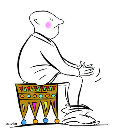 la monarchie se joue dans les cabinets des ministères, le pouvoir royal demeure un pouvoir humain, nous avons tous nos habitudes même aux sanitaires