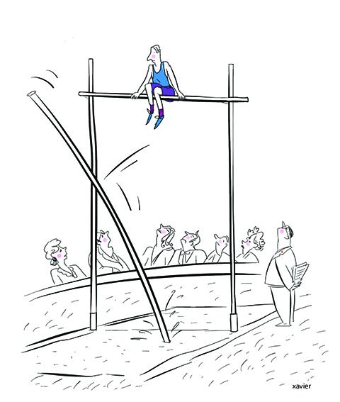 saut à la perche,épreuve décathlon,xavier,