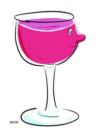 xavier dessine le beaujolais nouveau, vin français, vignobles situés au Nord de Lyon et au sud de Macon, vin de saveurs,image de xavier